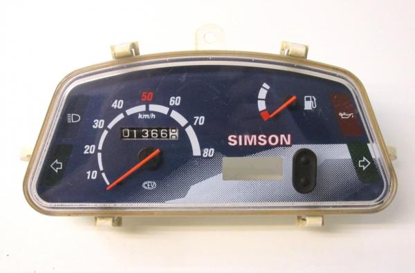 simson sra 50 roller star tacho tachometer cockpit anzeige. Black Bedroom Furniture Sets. Home Design Ideas